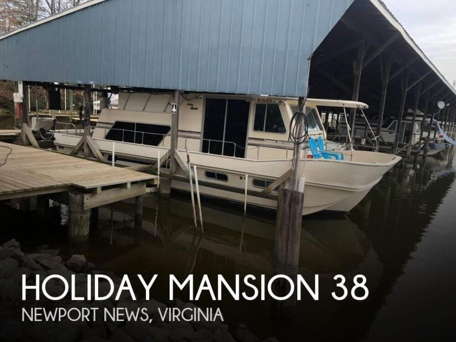 1989 Holiday Mansion 38 Coastal Barracuda