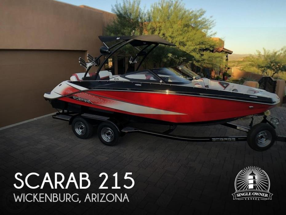 2014 Scarab 215 HO Impulse