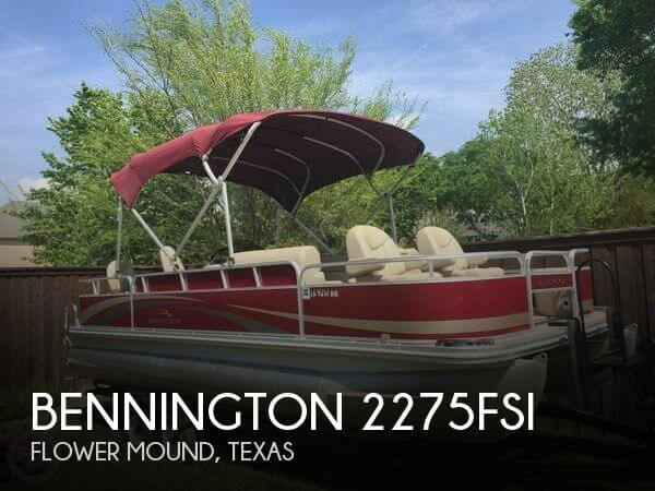 2011 Bennington 2275FSI