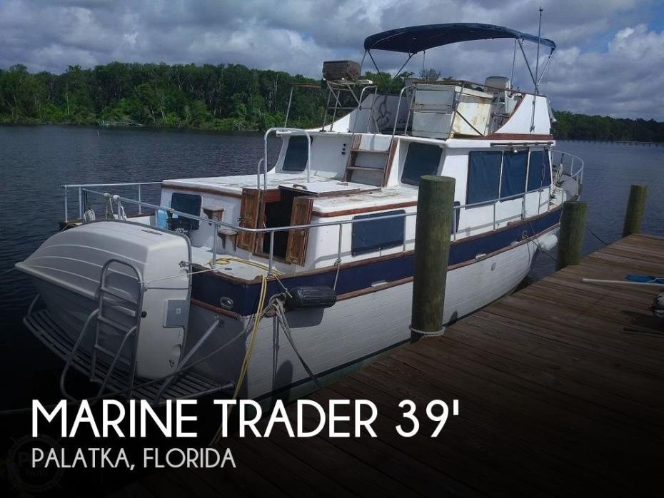 1976 Marine Trader 40 Double Cabin