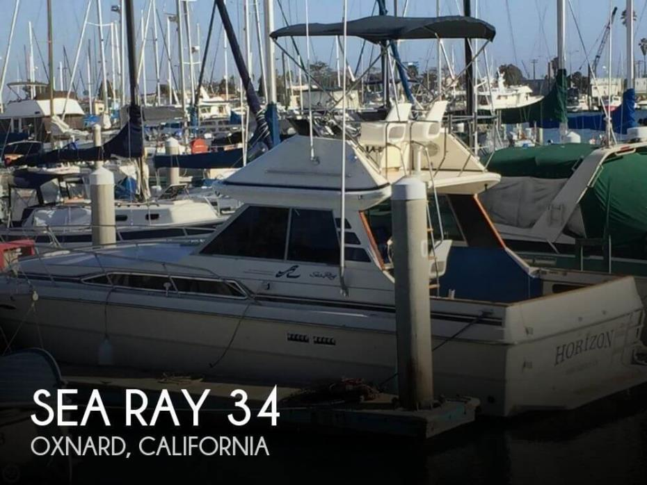 1987 Sea Ray 340 Convertible