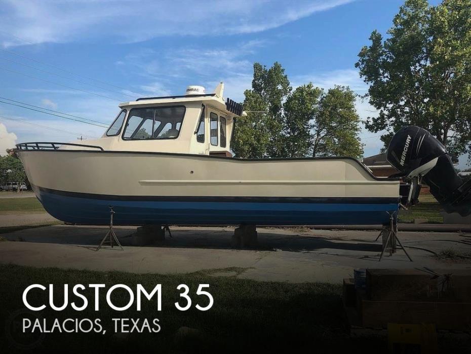 2017 Custom 35 Aluminum Hull