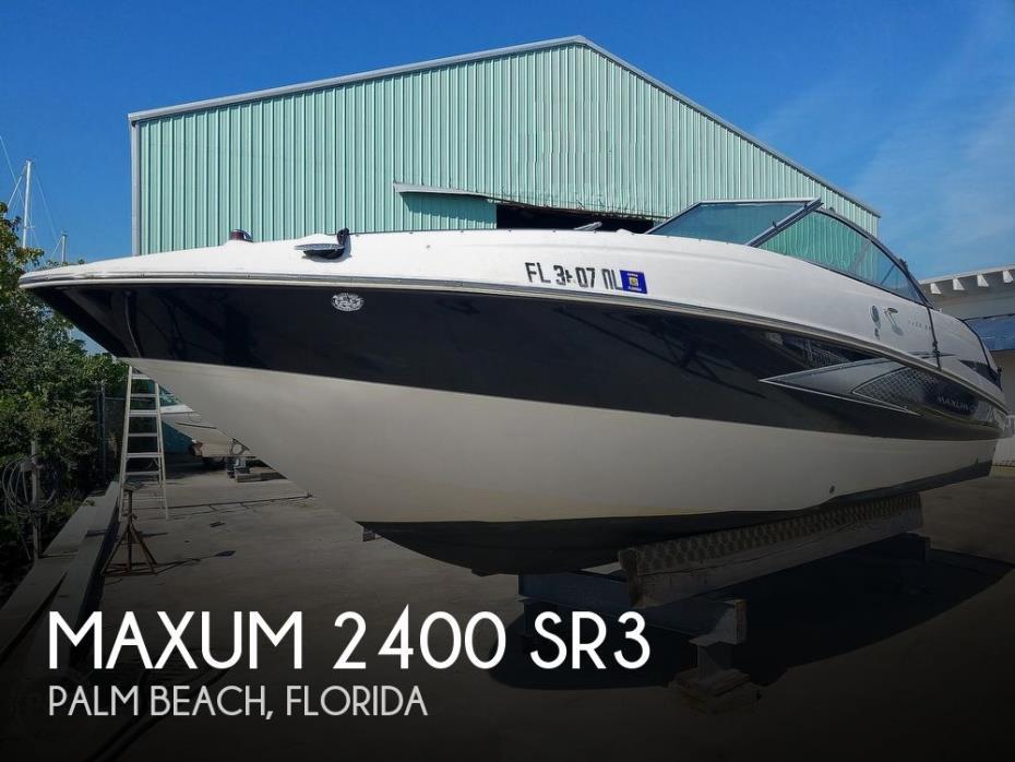 2007 Maxum 2400 SR3