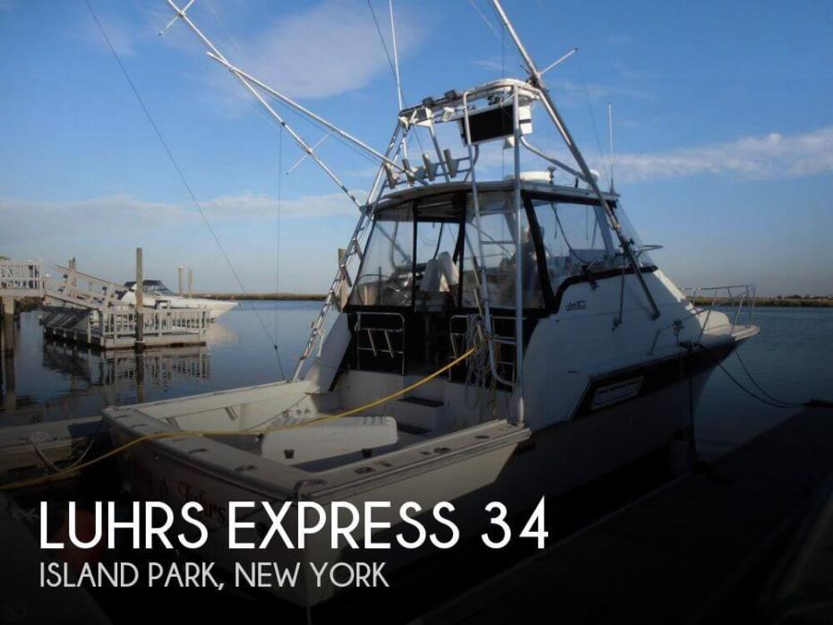 1984 Luhrs Express 34