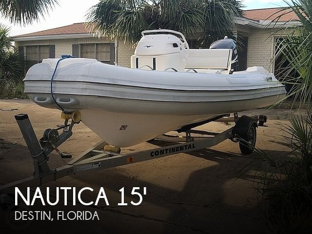 2009 Nautica 15 Widebody RIB