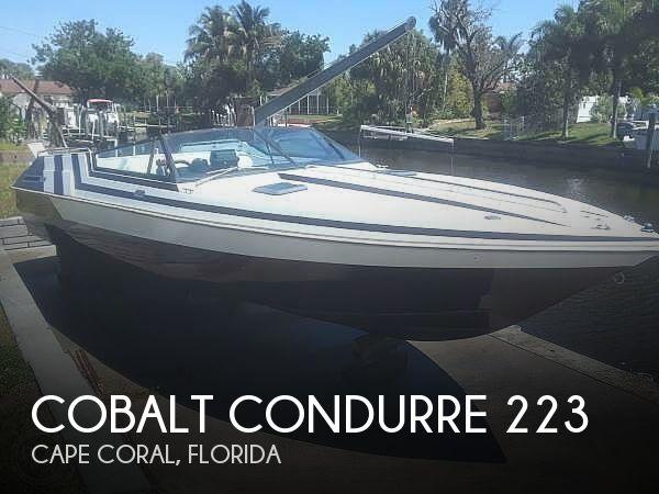 1988 Cobalt CONDURRE 223