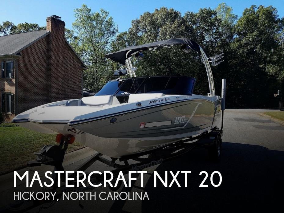 2016 Mastercraft NXT 20