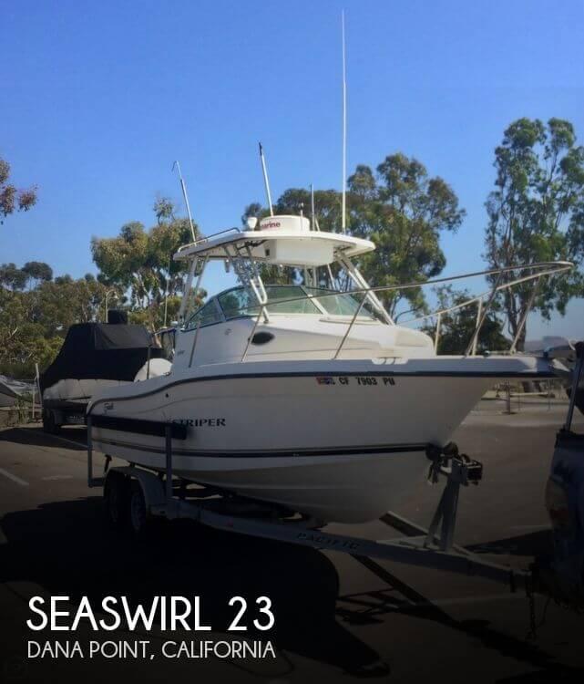 2001 Seaswirl 230 Striper