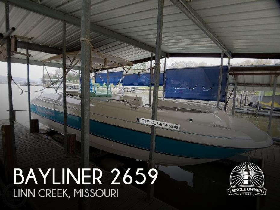 1996 Bayliner Rendezvous 2659