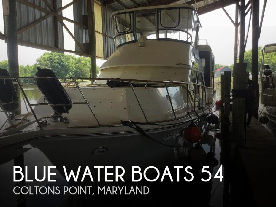 1988 Blue Water Boats 54 MY