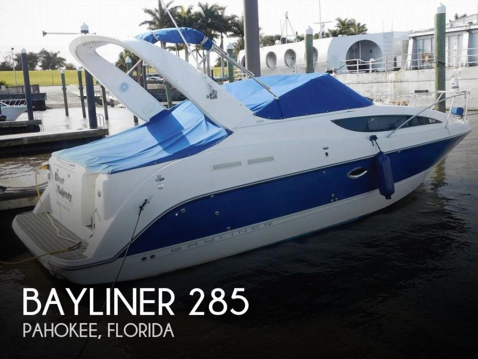 2007 Bayliner 285 Ciera SB