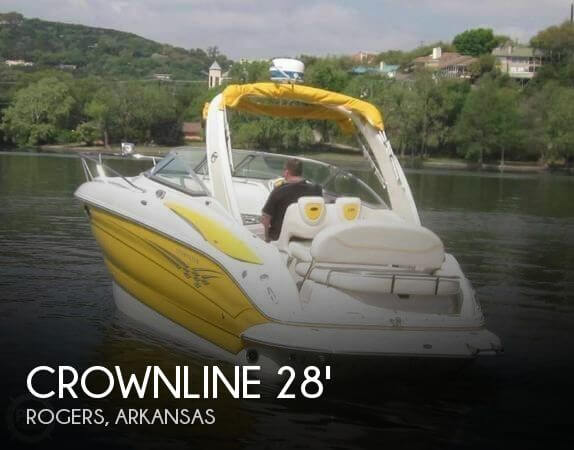 2006 Crownline 270 CR Cruiser Cuddy