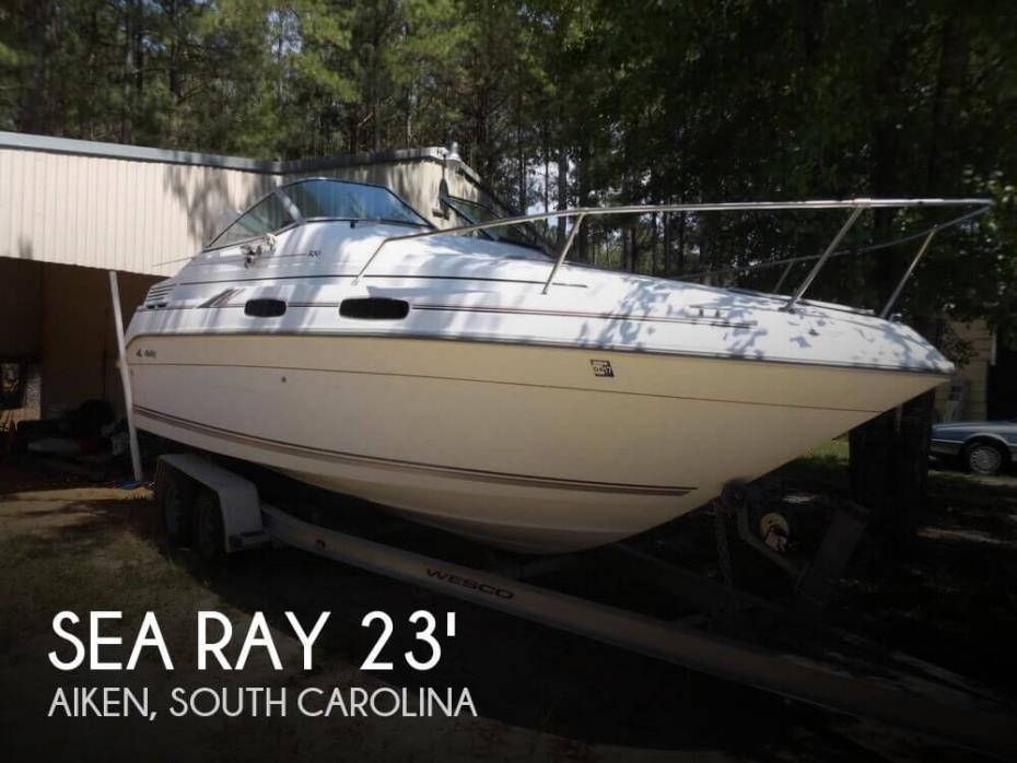 1992 Sea Ray 230 Sundancer LTD