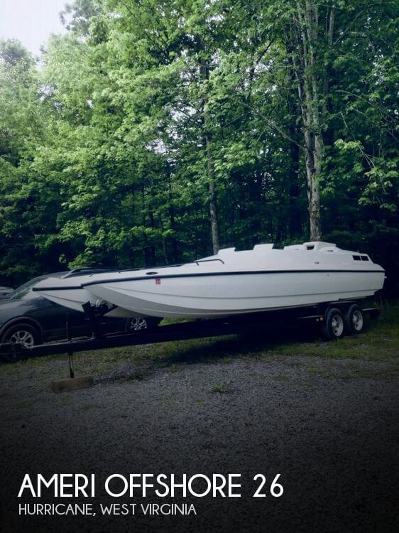 1998 American Offshore 26 Cat