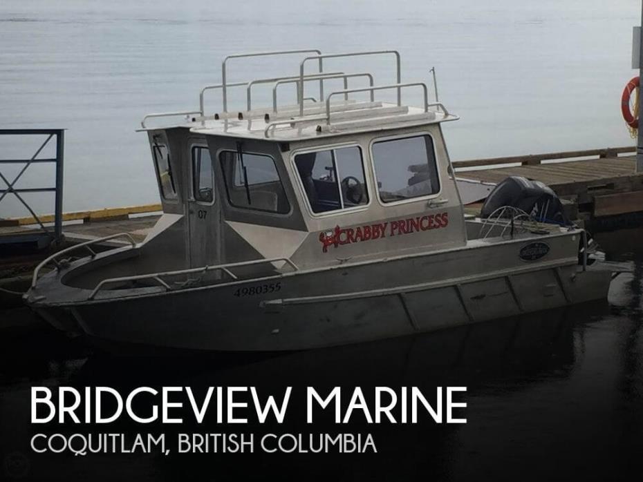 2004 Bridgeview Marine 22 Pilothouse
