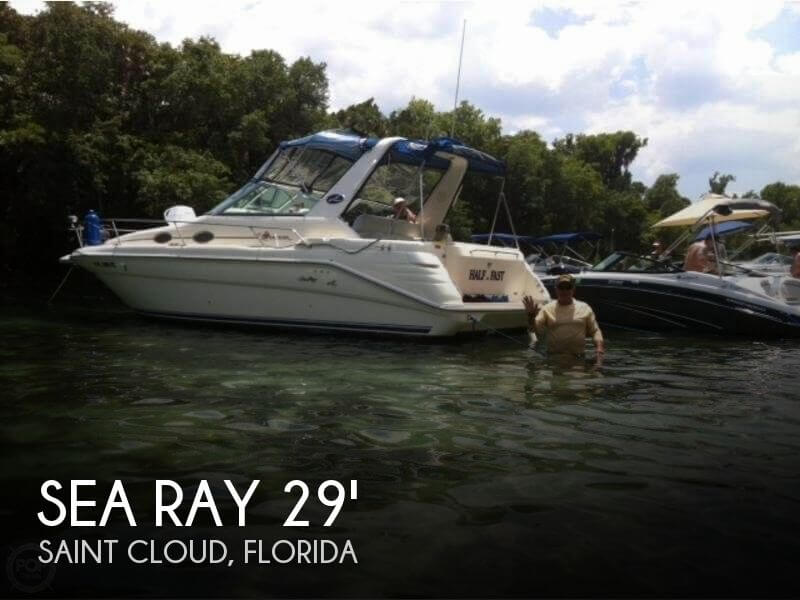 1996 Sea Ray 290 Sundancer