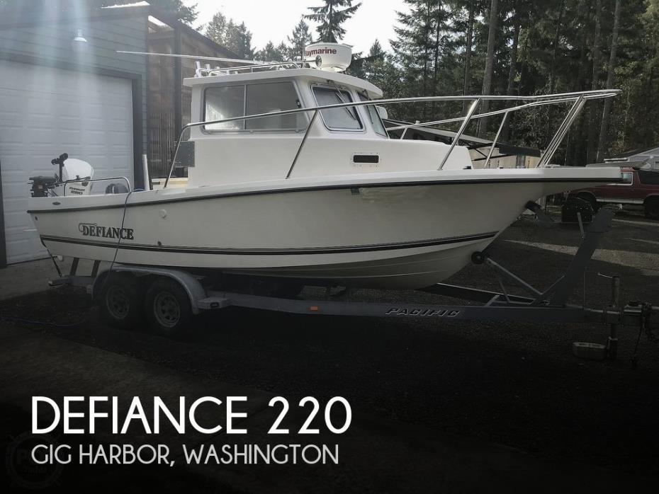 2009 Defiance Admiral 220 EX