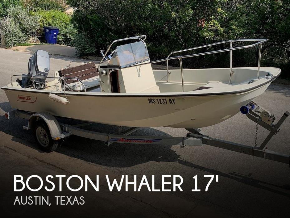 1985 Boston Whaler Montauk 17