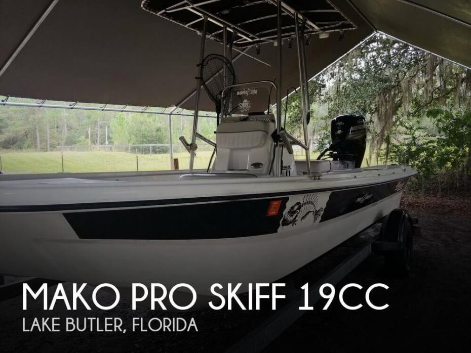 2017 Mako Pro Skiff 19CC