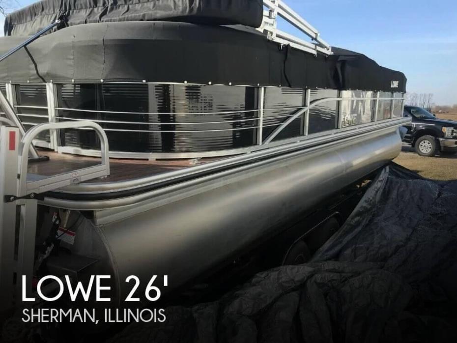 2015 Lowe SS 250 WT Tri-Toon