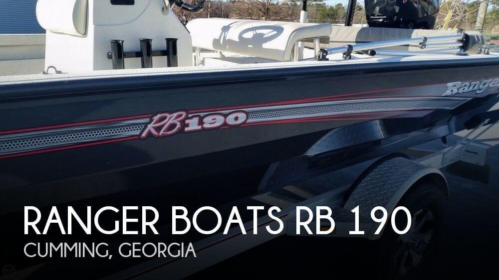 2017 Ranger Boats RB 190