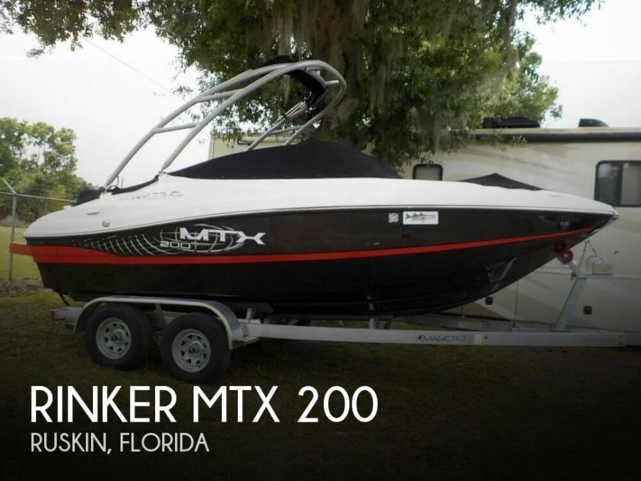 2012 Rinker MTX 200