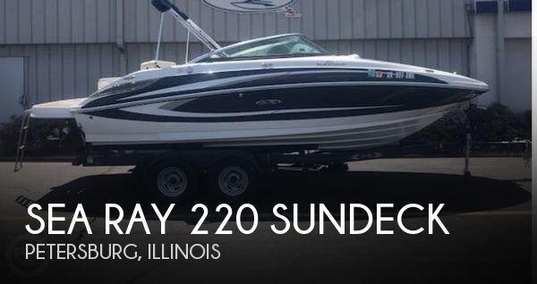 2013 Sea Ray 220 Sundeck
