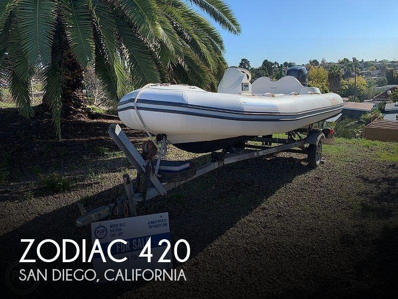2013 Zodiac Yachtline Avon 420