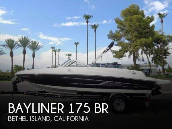 2015 Bayliner 175 BR