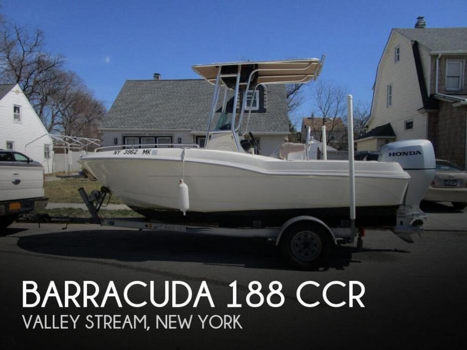 2016 Barracuda 188 CCR