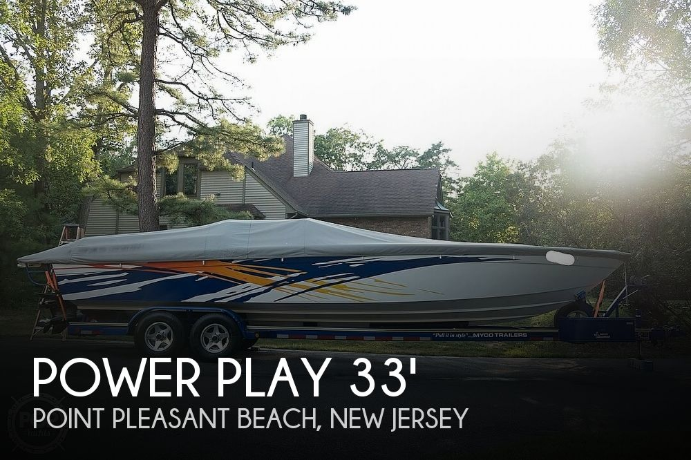 2001 Power Play 33 Sportdeck