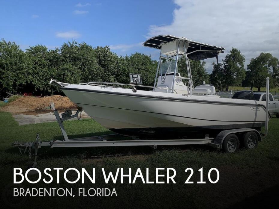 2004 Boston Whaler 210 Outrage