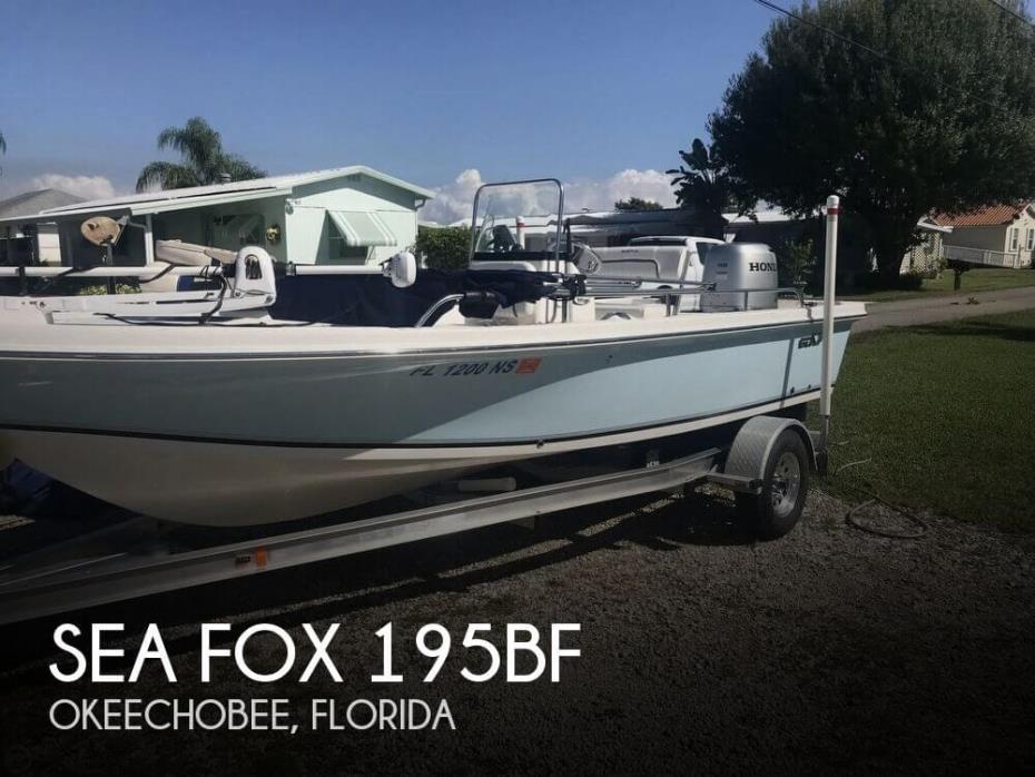 2008 Sea Fox 195BF