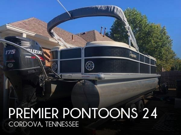 2016 Premier Pontoons 240 Sunspree RF Tritoon