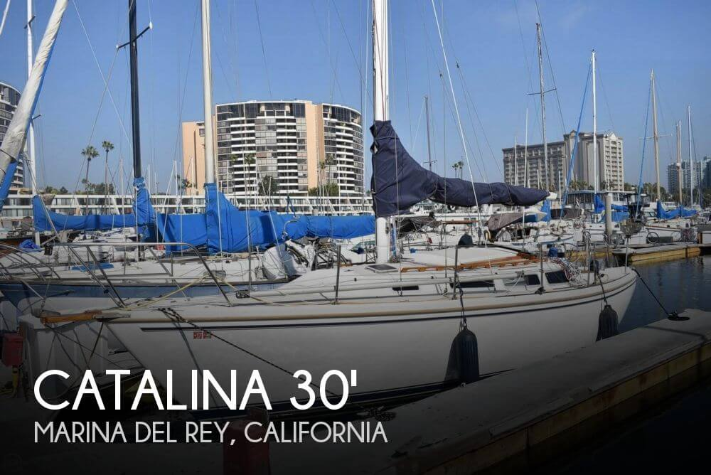 1984 Catalina 30 Tall Rig