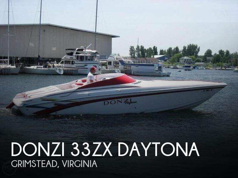 1998 Donzi 33ZX Daytona