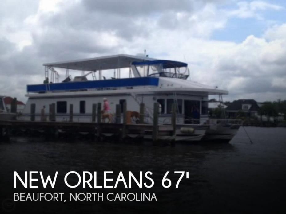 1999 New Orleans Custom Houseboat