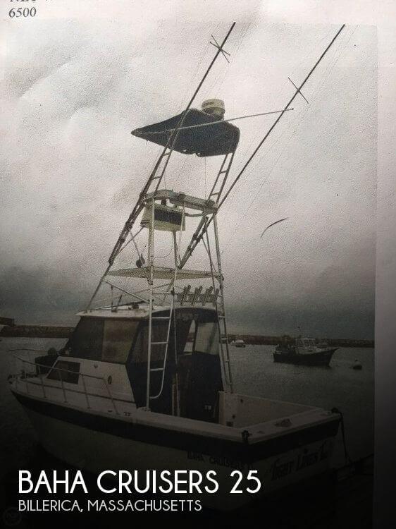 1988 Baha Cruisers 260 Sportfish