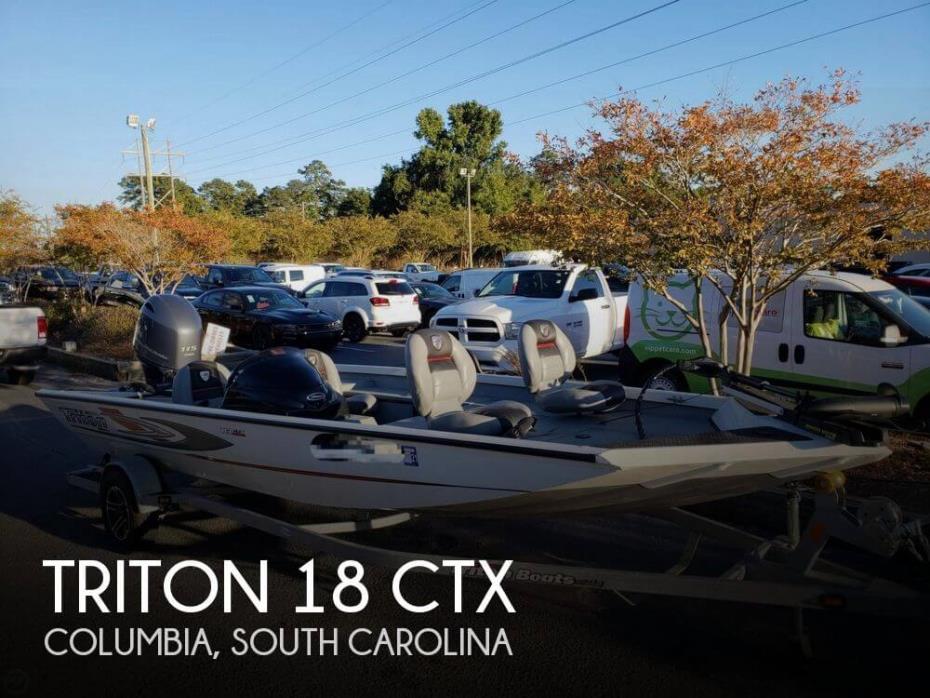 2015 Triton 18 CTX