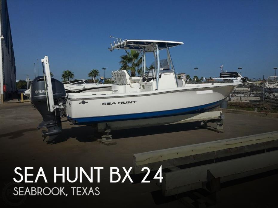 2016 Sea Hunt Bx 24
