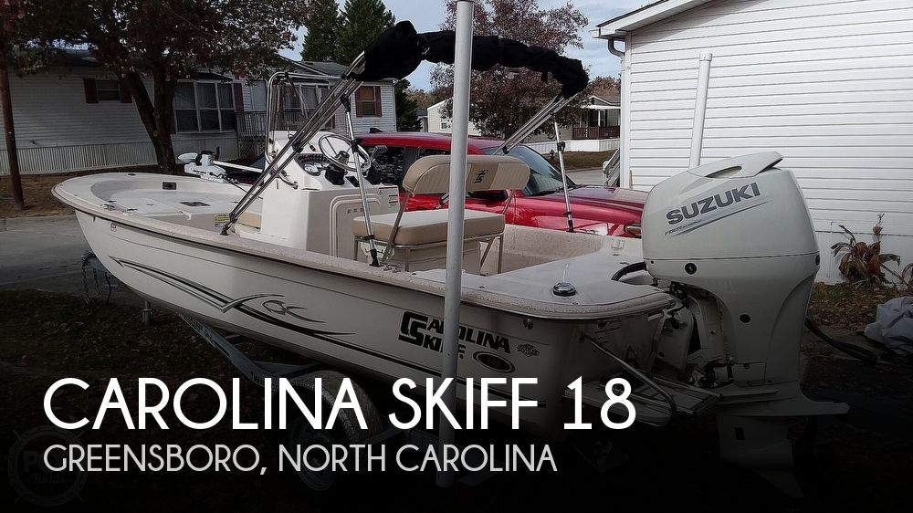 2018 Carolina Skiff 18 JVX CC