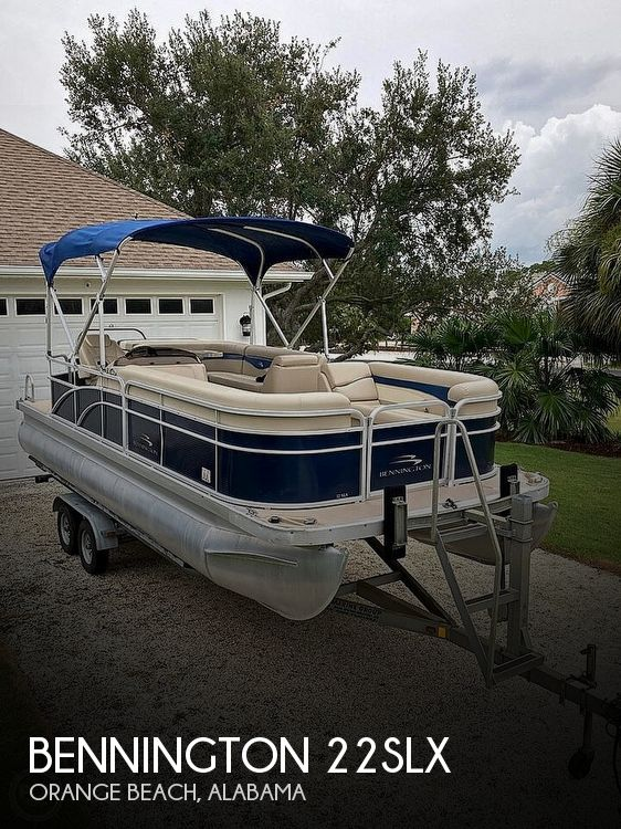 2014 Bennington 22SLX Saltwater Series