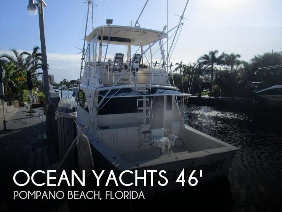 1983 Ocean Yachts 46 Super Sport