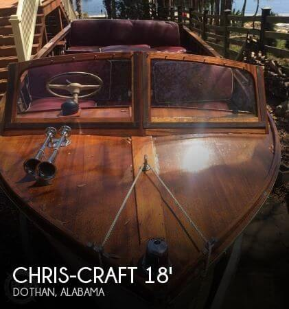 1958 Chris-Craft Sea Skiff 18