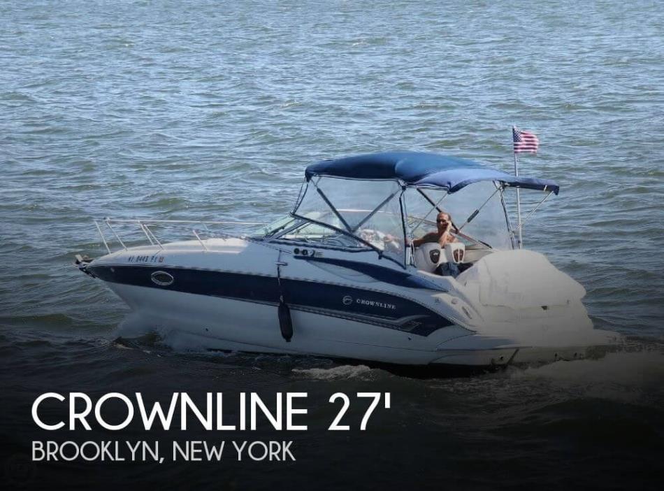 2005 Crownline 270 Cruiser