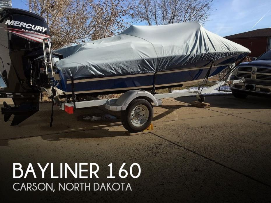 2018 Bayliner 160