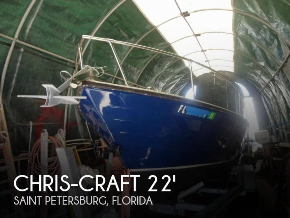 1979 Chris-Craft Tournament Fisherman