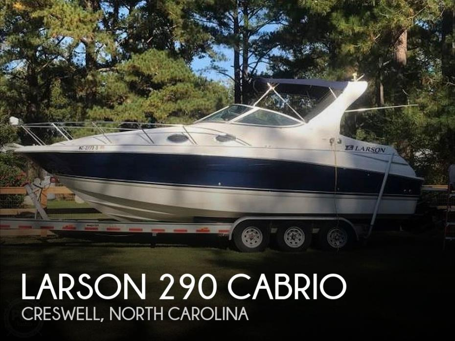 2006 Larson 290 Cabrio
