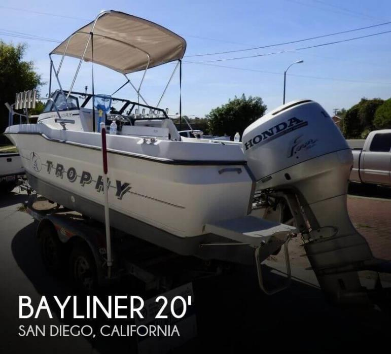1992 Bayliner Trophy 2002 WA