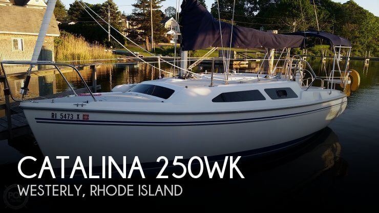 2006 Catalina 250 Wing Keel